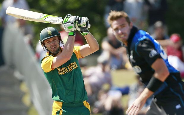 "South Africa captain A B de Villiers and his team have been told not to come home a ""bunch of losers."""