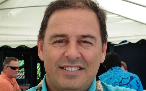 Cook Islands Finance Minister Mark Brown