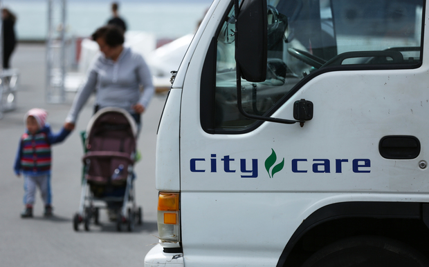 City Care vehicle in Wellington.