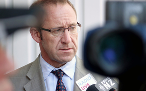 Labour leader Andrew Little speaks to media about Iraq's request.