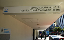 Wellington Family Court and mediation room.
