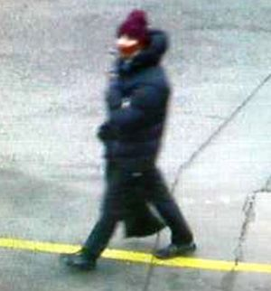 A photograph of the alleged gunman released by police.