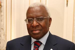 IThe former IAAF president Lamine Diack.