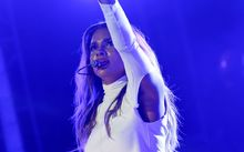 RnB artist Ciara performing in West Hollywood in November.