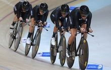 New Zealand Women's Team Pursuit.