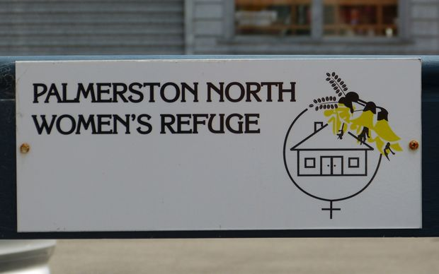 Women's Refuge sign