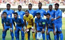 Fiji's Under 20 football team are touring Asia to prepare for the World Cup.
