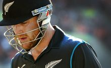 The Black Caps captain Brendon McCullum.