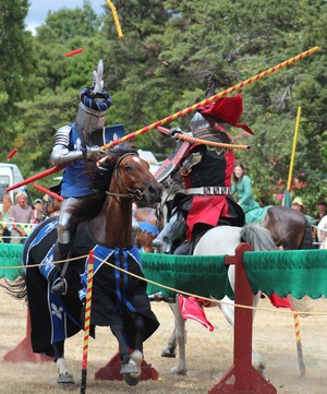 jousting in Upper Hutt
