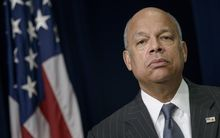 US Homeland Security Secretary Jeh Johnson