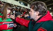 Souths co-owner Russell Crowe