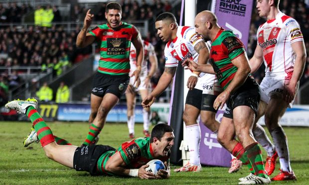 Souths win 2015 World Club Challenge over St Helens.