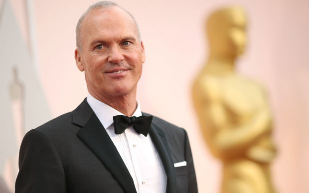 Actor Michael Keaton attends the 87th Annual Academy Awards at Hollywood.