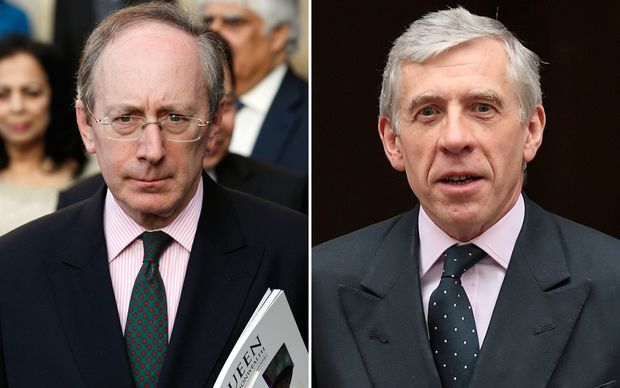 Sir Malcolm Rifkind and Jack Straw deny wrongdoing.
