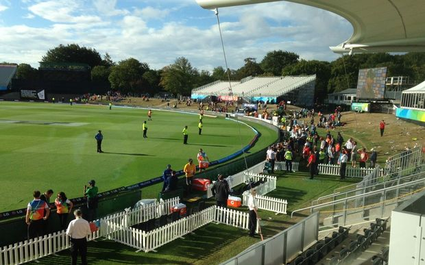 The final of three ICC Cricket World Cup matches held at Hagley Park.