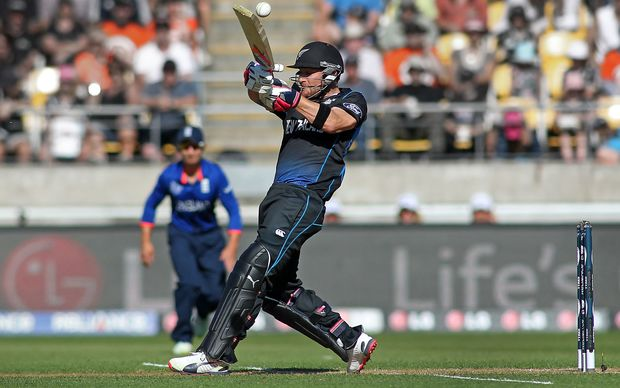 Brendon McCullum was at his belligerent best against England.