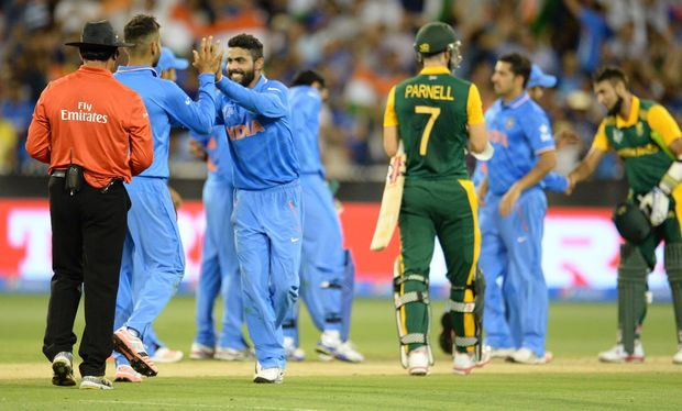 India showed South Africa may not be the World Cup force they were expected to be.