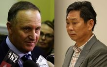 John Key and Donghua Liu