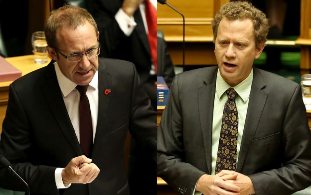 Andrew Little and Russel Norman
