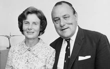 Dame Thea and Robert Muldoon