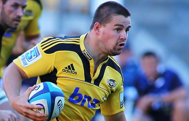 Dane Coles in action for the Hurricanes, 2012.