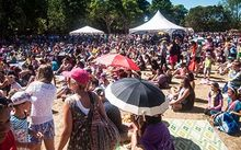 The crowd at Pasifika Festival in Auckland, 2015.