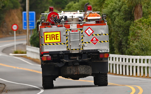 Rural fire service appliance in Porirua.