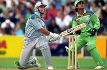 Martin Crowe was named Player of the Tournament at the 1992 World Cup