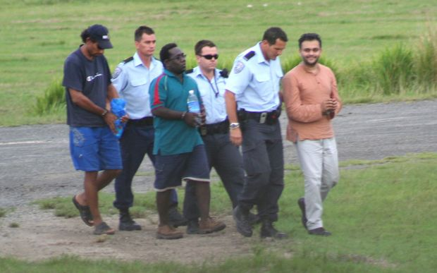 Solomon Islands Attorney General Julian Moti wanted by Australia in 2006 on sex charges