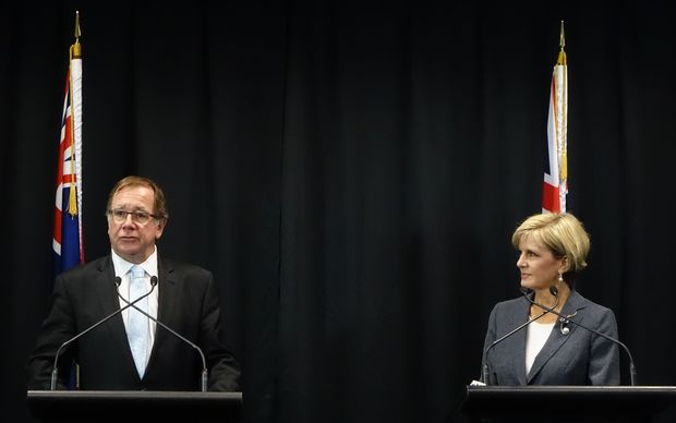 Murray McCully and Julie Bishop
