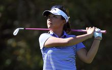 Lydia Ko in action at Clearwater