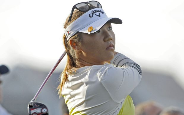 Lydia Ko during Day 2 of the New Zealand Women's Open