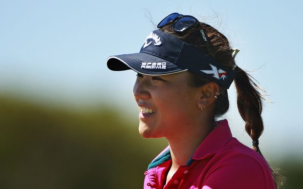 Lydia Ko on the way to winning her 2nd NZ Open