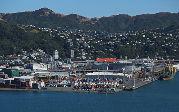 Wellington port; Wellington City