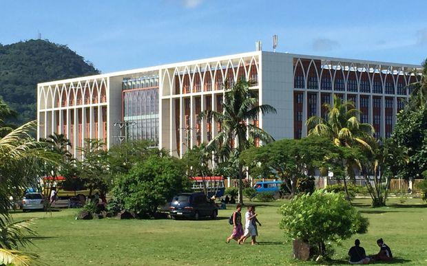 Samoa government building, Apia.