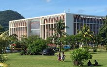 Samoa government building, Apia.