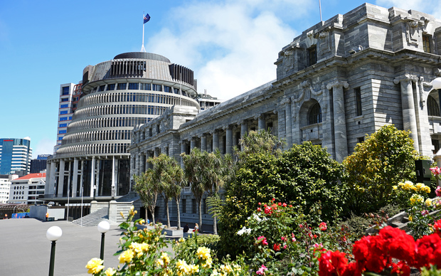 New Zealand parliament; beehive