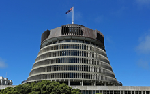 New Zealand Beehive; parliament
