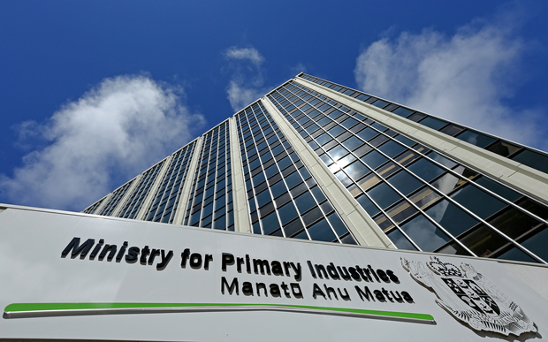 Ministry of Primary Industries.