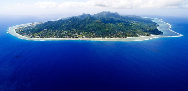 Rarotonga, the largest of the Cook Islands