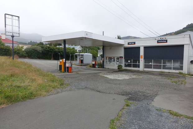 The Sawyers Bay Motors service station, which was used to sell stolen fuel.