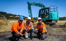 Transmission Gully Project team members