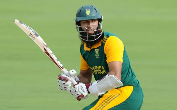 The South Africa batsman Hashim Amla.