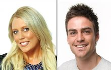 Mel Greig and Michael Christian from 2Day FM.
