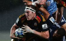 Brodie Retallick will spend up to six weeks on the sidelines with a shoulder injury.