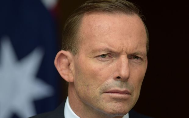 Prime Minister Tony Abbott attended a candlelight vigil in Canberra for two Australian's on death row.