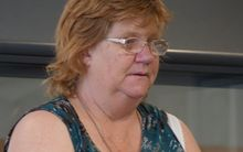 Beverley Sepuloni at New Plymouth District Court on 5 March 2015.