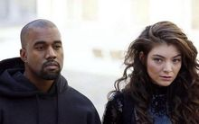 The photo Lorde posted of her hanging out with Kanye West in Paris.