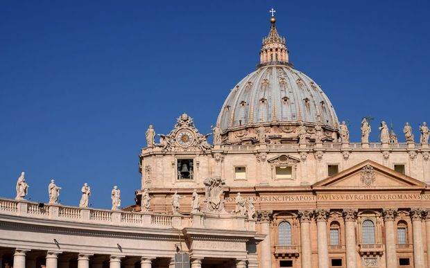 St. Peters Basilica at the Vatican.