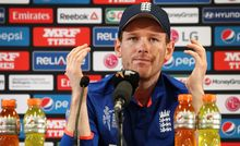 England cricket captain Eoin Morgan
